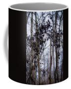 Sepia Aspens Coffee Mug