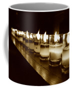 Sepia Candles Coffee Mug