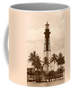 Sepia Light House  Coffee Mug