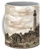 Sepia Lighthouse Coffee Mug
