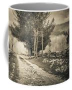 Sepia Road Coffee Mug