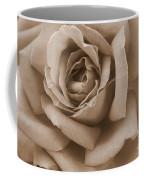 Sepia Rose Abstract Coffee Mug