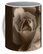 Sepia Rose Coffee Mug