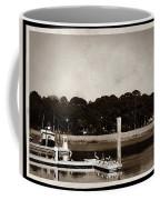 Sepia Tone Lagoon Coffee Mug