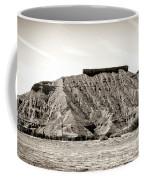 Sepia Tones Nature Landscape Nevada  Coffee Mug