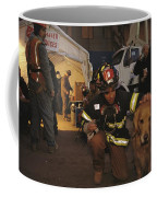 September 11th Rescue Workers Receive Coffee Mug by Ira Block