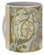 Septentrionalium Terrarum Descriptio Coffee Mug by Gerardus Mercator