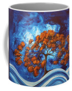 Serendipitous Original Madart Painting Coffee Mug