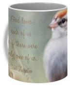 Serendipitous Sparrow - Quote Coffee Mug