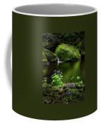 Serene Green Coffee Mug