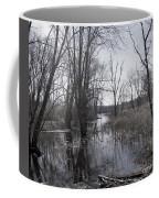 Serene Swampy River Coffee Mug