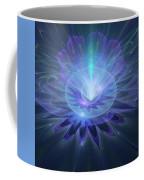 Serenity Abstract Fractal Coffee Mug