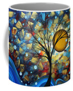 Serenity Falls By Madart Coffee Mug by Megan Duncanson