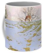 Serenity In The Spring Snow Coffee Mug