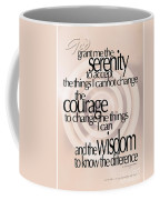 Serenity Prayer 06 Coffee Mug