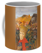 Sergei Esenin 1895-1925 As A Youth, Boris Grigoriev Coffee Mug