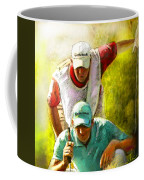 Sergio Garcia In The Madrid Masters Coffee Mug