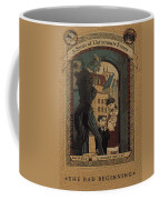 Series Of Unfortunate Events Book The First Typography Cover Using Every Word Of Text Coffee Mug