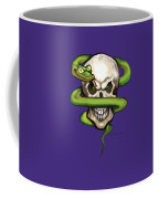 Serpent Evil Skull Coffee Mug