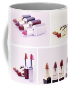 Set Of Lipsticks For Woman Beauty Coffee Mug
