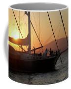 Set Sail On The Aegean At Sunset Coffee Mug