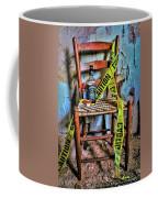 Set With Caution Coffee Mug