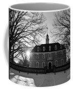 Setting Sun At The Capitol Coffee Mug