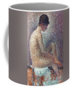 Seurat: Model, 1887 Coffee Mug