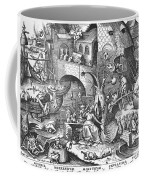 Seven Deadly Sins, 1558 Coffee Mug by Granger