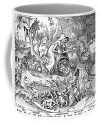 Seven Deadly Sins: Anger Coffee Mug