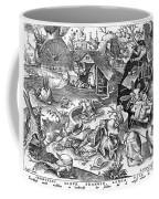 Seven Deadly Sins: Sloth Coffee Mug by Granger