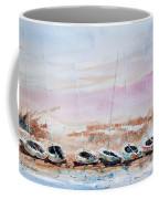 Seven Little Boats Coffee Mug