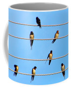 Seven Swallows Coffee Mug