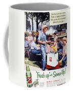 Seven-up Soda Ad, 1954 Coffee Mug by Granger