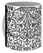 Seventeenth Century Parterre Pattern Design Coffee Mug