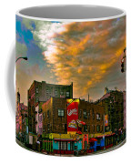 Seventh And Bleeker At Sunrise Nyc Coffee Mug