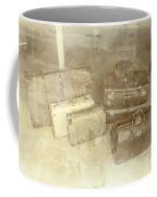 Several Vintage Bags On Floor Coffee Mug