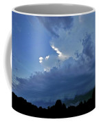 Severe Weather And Waxing Crescent Moon Coffee Mug