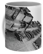 Seville - Giralda In Black And White Coffee Mug