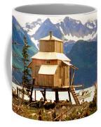 Seward Alaska House Of Stilts Coffee Mug
