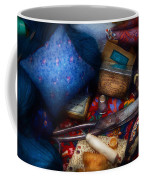 Sewing - Devoting To Sewing  Coffee Mug by Mike Savad