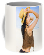 Sexy Beach Adventure Coffee Mug