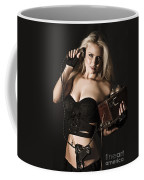 Sexy Blond Secret Agent Coffee Mug