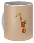 Sexy Saxaphone Coffee Mug