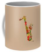 Sexy Saxaphone Coffee Mug by Nikki Smith
