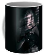 Sexy Woman Assassin Coffee Mug
