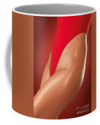 Sexy Young Woman In High Cut Swimsuit Coffee Mug