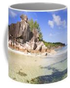 Seychelles Rocks Coffee Mug