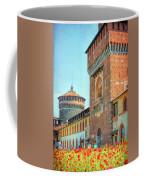 Sforza Castle Milan Italy Coffee Mug