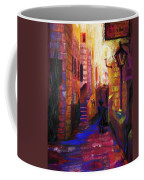 Shabbat Shalom Coffee Mug by Talya Johnson